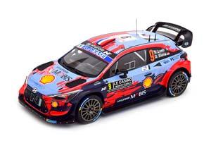 HYUNDAI I20 COUPE WRC #9 LOEB/ELENA 2 МЕСТО RALLY MONTE CARLO 2020