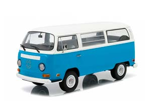 VW VOLKSWAGEN BUS T2B TV SERIES LOST DHARMA VAN 1971 LIGHT BLUE/WHITE (FROM THE TV SERIES STAYING ALIVE) *ФОЛЬКСВАГЕН ФОЛЬЦВАГЕН