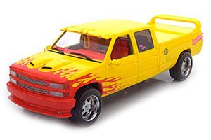 Chevrolet Silverado C 2500 Crew Cab From Movie Kill Bill 1997 Yellow