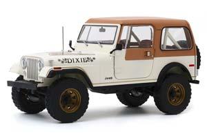 JEEP CJ-7 4Х4 GOLDEN EAGLE DIXIE 1979 WHITE