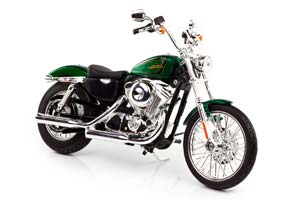 HARLEY-DAVIDSON XL 1200V SEVENTY-TWO 2012 GREEN METALLIC *ХАРЛИ ХАРЛЕЙ ДЕВИДСОН ДЭВИДСОН