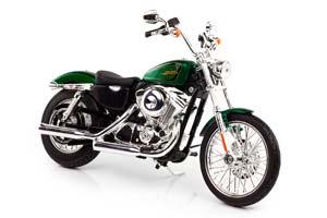 HARLEY-DAVIDSONXL 1200V SEVENTY-TWO 2012 GREEN METALLIC