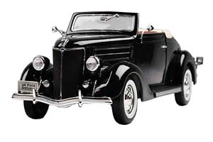FORD DELUXE CABRIOLET 1936 DARK BLUE *ФОРД ФОРТ