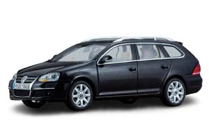 VW VOLKSWAGEN GOLF V VARIANT BLACK METALLIC