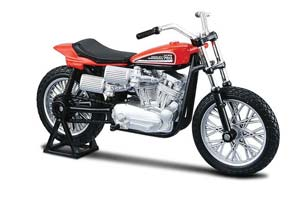 HARLEY DAVIDSON XR 750 RACING BIKE 1972 RED *ХАРЛИ ХАРЛЕЙ ДЕВИДСОН ДЭВИДСОН