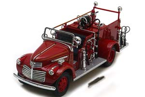 GMC FIRE TRUCK 1941 RED