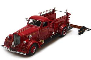 American LaFrance 550 Fire Engine 1939 Red