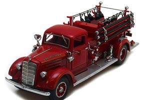 MACK TYPE 75 FIRE TRUCK 1938 RED