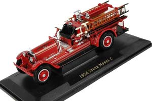 STUTZ MODEL C FIRE TRUCK FORDS FIRE CO. #1 1924 RED