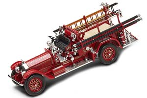 American LaFrance Type 75 RoseLand Fire Truck 1927 Red