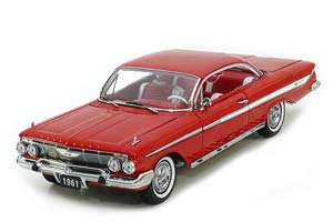 CHEVROLET IMPALA SPORT COUPE 1961 RED *ШЕВРОЛЕ ШЕВИ ШЕВРОЛЕТХ