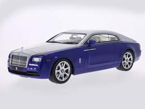 Rolls-Royce Wraith 2015 Dark Blue Metallic/Silver
