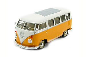 VW VOLKSWAGEN T1 BUS 1962 YELLOW WITH WHITE *ФОЛЬКСВАГЕН ФОЛЬЦВАГЕН