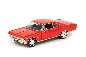 CHEVROLET IMPALA SS396 COUPE 1965 RED