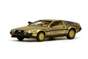 DELOREAN DMC-12 COUPE 1980 STAINLESS STEEL GOLDEN EDITION