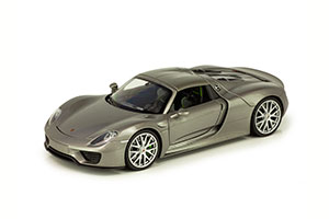 PORSCHE 918 SPYDER HARD TOP 2015 GRAY *ПОРШЕ ПОРШ