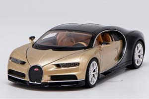 BUGATTI CHIRON 2016 GOLDEN/BLACK