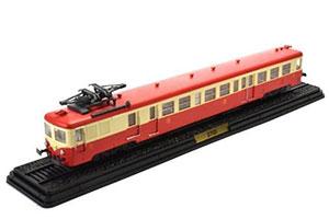 CARRIAGE Z-7125 (LAUTOMOTRICE Z-7100) 1960 RED/BEIGE *ВАГОН