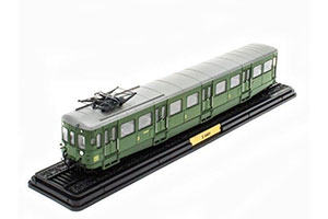 CARRIAGE Z-3601 (LAUTOMOTRICE TYPE Z-3600 SNCF) 1938 GREEN *ВАГОН