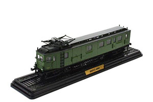 CARRIAGE SNCF-4004 (LAUTOMOTRICE AE1 A 7 PO) (VERSION SNCF Z.4000) 1904 GREEN *ВАГОН