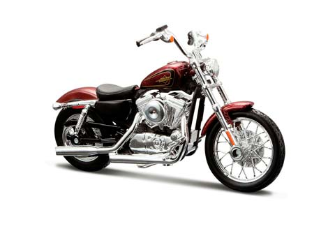 HARLEY-DAVIDSON XL 1200V SEVENTY-TWO 2012 DARK RED METALLIC *ХАРЛИ ХАРЛЕЙ ДЕВИДСОН ДЭВИДСОН