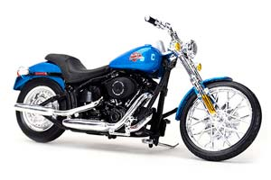 HARLEY-DAVIDSON FXSTB NIGHT TRAIN 2002 BLUE METALLIC *ХАРЛИ ХАРЛЕЙ ДЕВИДСОН ДЭВИДСОН