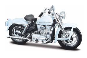 HARLEY-DAVIDSONK MODEL 1952 WHITE