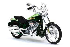 HARLEY-DAVIDSONFXSTDSE CVO 2004 GREEN METALLIC