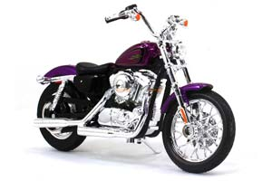 HARLEY-DAVIDSONXL 1200V SEVENTY-TWO 2013 VIOLET METALLIC