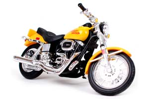 HARLEY-DAVIDSON FXS LOW RIDER 1977 YELLOW *ХАРЛИ ХАРЛЕЙ ДЕВИДСОН ДЭВИДСОН