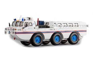 ZIL 49061 MES BLUE BIRD (USSR RUSSIA CAR) WHITE | ЗИЛ 49061 МЧС СИНЯЯ ПТИЦА (БЕЛЫЙ) *ЗИЛ ЗАВОД ИМЕНИ ЛИХАЧЕВА