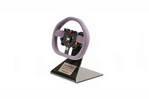 BENETTON RENAULT B195 STEERING WHEEL 1995 *БЕНЕТОН БЕНЕТТОН