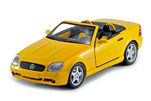 Mercedes SLK 230 AMG 1997 Yellow