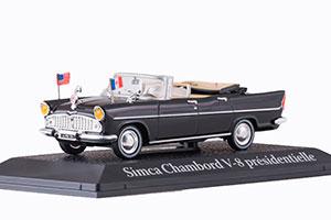 SIMCA CHAMBORD V8 AB-P PRESIDENT PERSIDENT KENNEDY 1961 BLACK *СИМКА