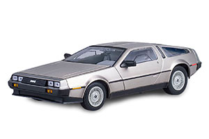 DELOREAN DMC 12 COUPE 1981 STAINLESS STEEL SILVER FINISH