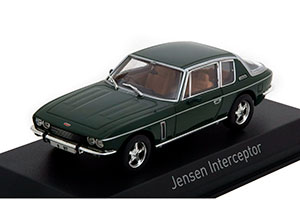 JENSEN INTERCEPTOR 1976 DARK GREEN