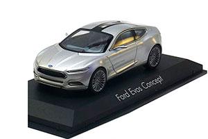 FORD EVOS CONCEPT CAR 2012 SILVER *ФОРД ФОРТ