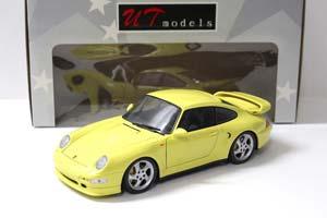 Porsche 911 (993) Turbo S 1994 Yellow
