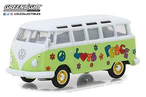 VW VOLKSWAGEN T1 SAMBA BUS HIPPIE PEACE & LOVE 1964 *ФОЛЬКСВАГЕН ФОЛЬЦВАГЕН