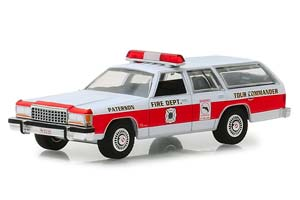 FORD LTD CROWN VICTORIA WAGON PATERSON NEW JERSEY FIRE DEPARTMENT (ПОЖАРНЫЙ) 1985 *ФОРД ФОРТ