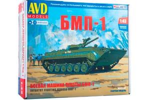 MODEL KIT PANZER BMP-1 INFANTRY CAR (USSR RUSSIA) | СБОРНАЯ МОДЕЛЬ БОЕВАЯ МАШИНА ПЕХОТЫ БМП-1