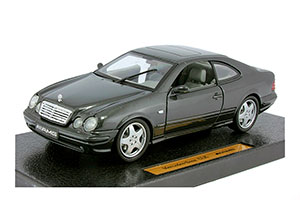 MERCEDES W208 CLK 55 AMG 1997 BLACK METALLIC