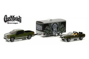 FORD F 150 2015 AND FORD MUSTANG SHELBY GT500KR CONVERTIBLE 1968 (FROM THE TV SHOW GAS MONKEY GARAGE) *ФОРД ФОРТ