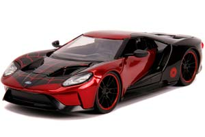 FORD GT 2017 WITH FIGURE MOVIE SPIDER-MAN 2017 RED/BLUE | FORD GT ФОРД ГТ С ФИГУРКОЙ ЧЕЛОВЕКА ПАУКА *ФОРД ФОРТ