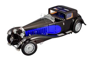 BUGATTI TYP 41 ROYALE COUPE DE VILLE 1930 BLUE/ BLACK