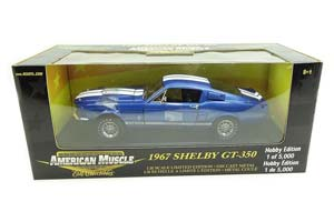 Ford Mustang Shelby GT 350 1967 Blue