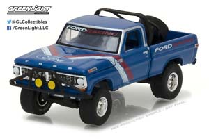 FORD F-100 FORD RACING 1970 BLUE