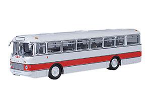 IKARUS 556 (USSR RUSSIAN BUS) 1962-1973 WHITE/RED   ИКАРУС 556 БЕЛЫЙ/КРАСНЫЙ