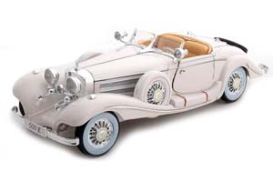 MERCEDES 500K SPECIALROADSTER 1936 WHITE