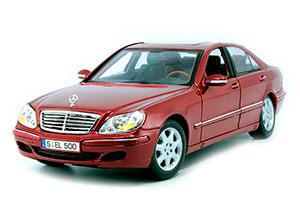 Mercedes W220 S500 Facelift 2001 Burgundy